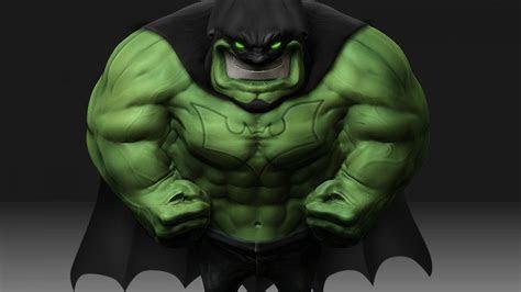 Hulk (comic character) batman artwork wallpaper   (74748)