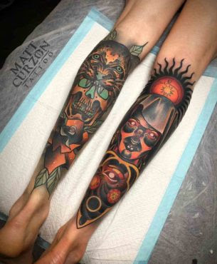 Neo Traditional Tattoos Best Tattoo Ideas Gallery