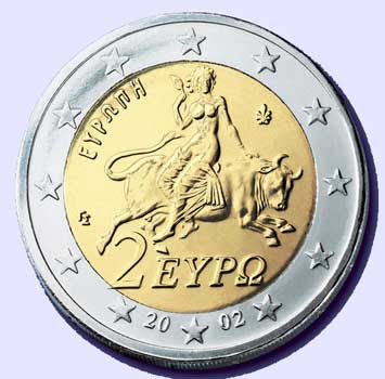 12 Pictures That Demonstrate How The New World Order Openly Mocks Us A Woman Rides The Beast 2 Euro Coin