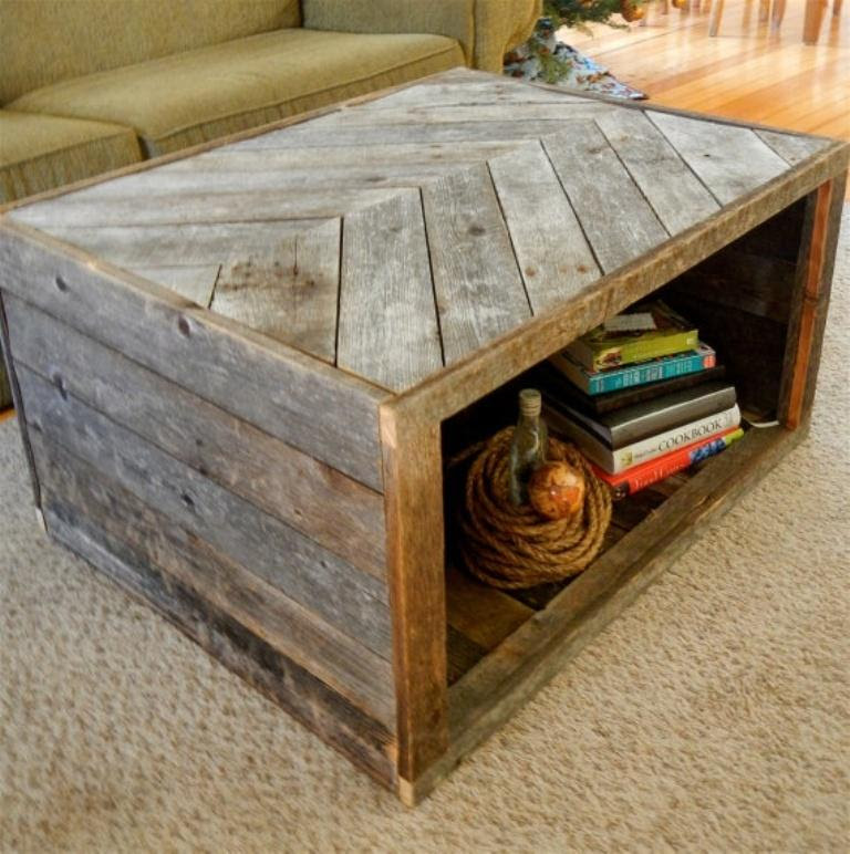 15 Cool Pallet Coffee Table Deisngs To Inspire - Rilane