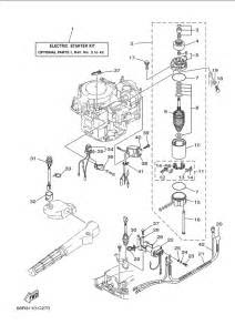 2005 Yamaha Optional Parts 1 Parts for 8 hp F8MSHD