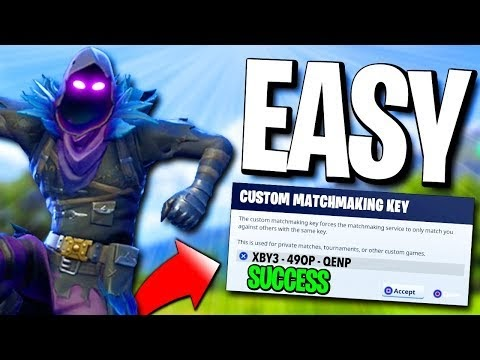 how to take off custom matchmaking key