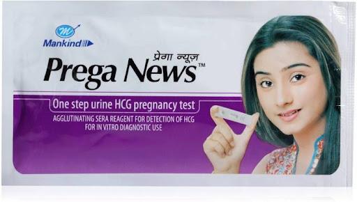Prega News Pregnancy Test Kit Results In Hindi Pregnancy Symptoms
