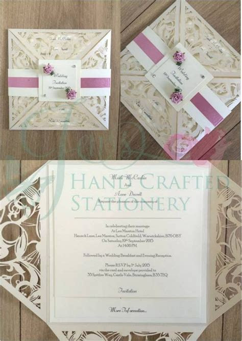 17 best images about Belly Band Laser Cut Invitations on