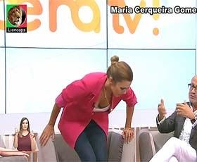Maria Cerqueira Gomes super sensual nas manhãs da Tvi