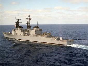"Эсминец ""Пол Фостер"". Фото с сайта navsource.org"