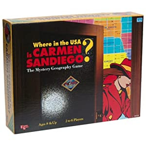 Where in the USA is Carmen Sandiego? (Board Game)