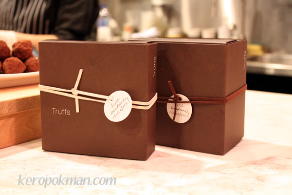 Boxes for the Truffles