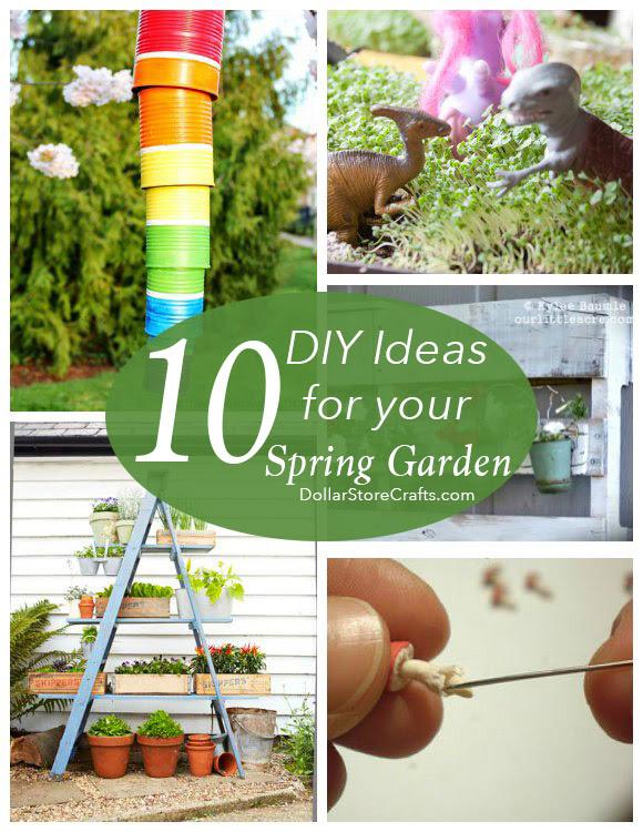 10 Cute Garden Crafts for Your Spring Garden » Dollar ...