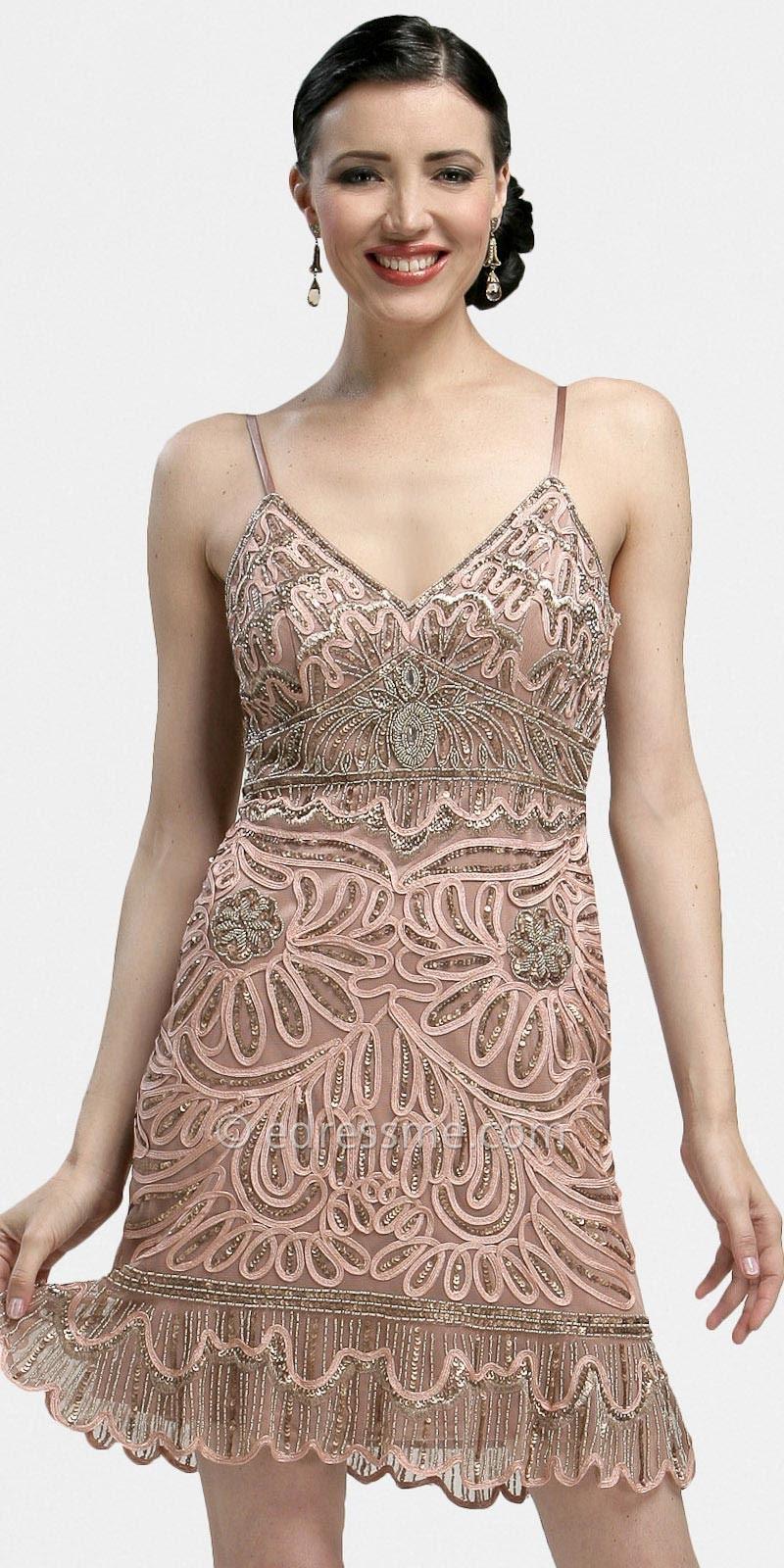 Evening dresses 20s style