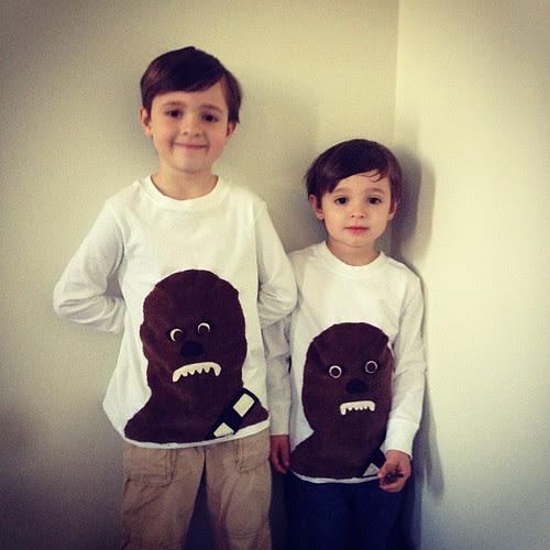 Wookie shirts