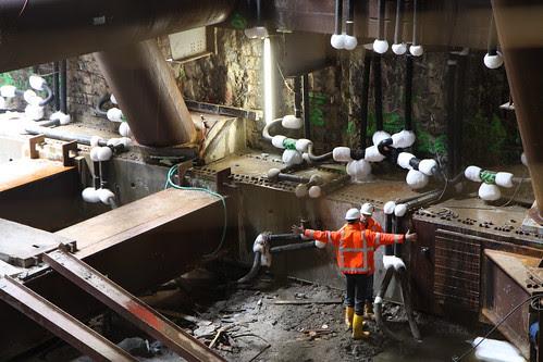 Bouwput Noord/Zuidlijn / Excavation Noth/South Line Amsterdam