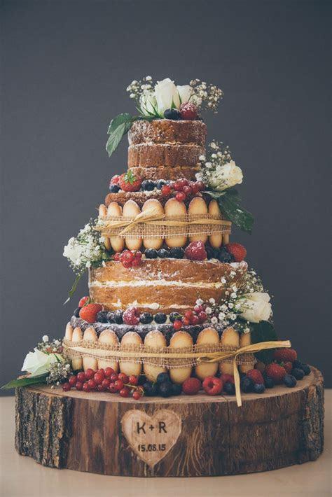 Six Naked Wedding Cake Ideas   Wedding cake, Layering and Cake