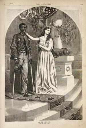 Injured Negro Soldier