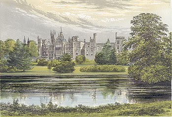 Alton Towers in 1880
