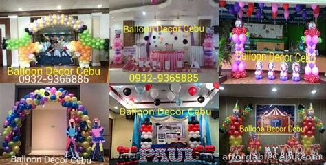 affordable balloon decoration packages For Sale Cebu City