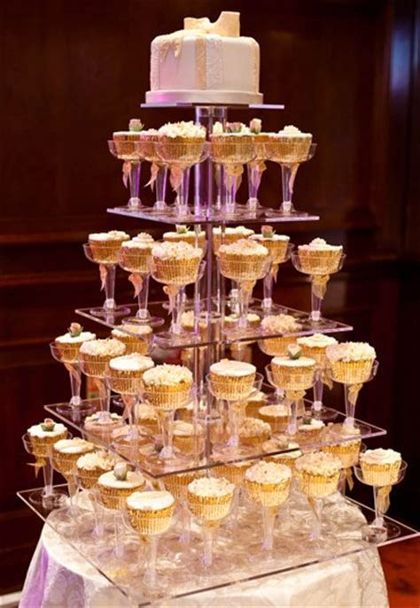 Cupcake cake   20 amazing alternative wedding cake ideas