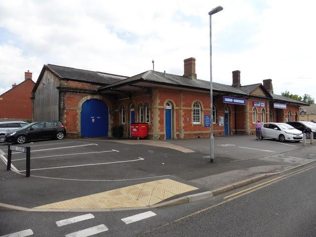 Former Central Railway Station Chard Roger Cornfoot Cc
