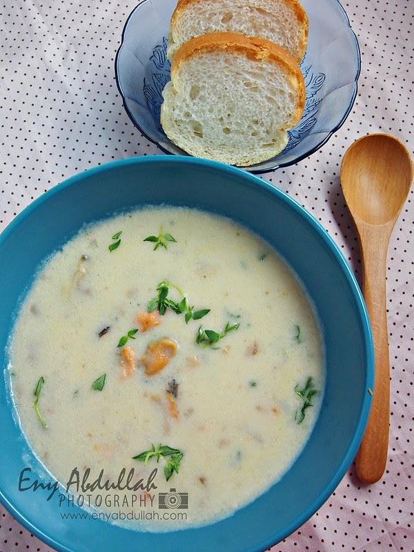 Comfort Food Sup Krim Chowder
