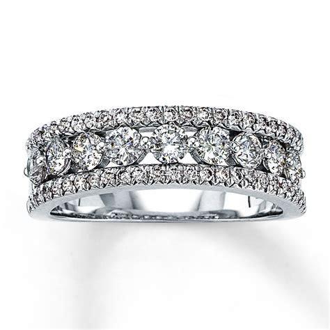 Jared   Diamond Anniversary Ring 1 ct tw Round Cut 14K