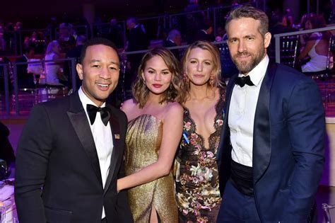 Blake Lively, Ryan Reynolds Hang With Chrissy Teigen, John
