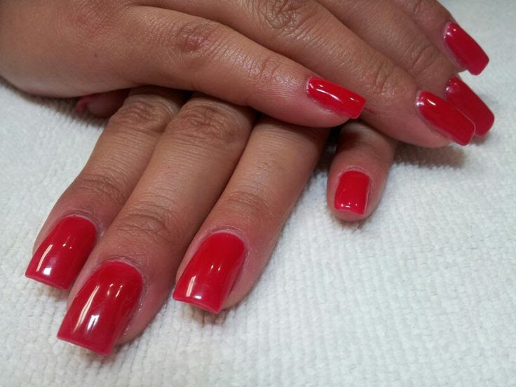 Acrylic Fill With Gel Polish | A Day Away Salon And Spa