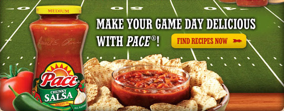 Make Your Game Day Delicious With Pace®!
