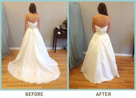 17 best wedding dress bustle images on Pinterest   Bridal