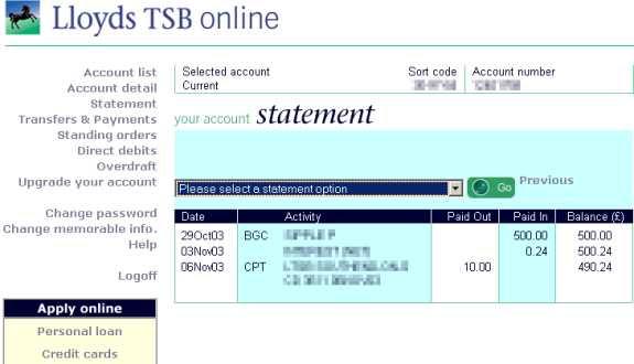 Credit bank personnel lloyds tsb open an account lloyds tsb open an account reheart Image collections