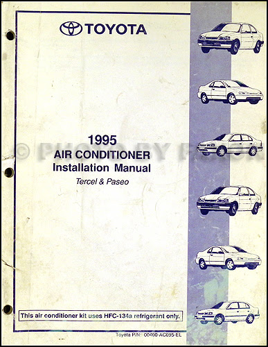 Diagram 1991 Toyota Tercel Service Shop Repair Set Oem Factory Service Electrical Wiring Diagrams And The Air Conditioner Installation Full Version Hd Quality Conditioner Installation Obadiagram Siggy2000 De