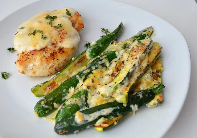 Creamy Zucchini Gratin