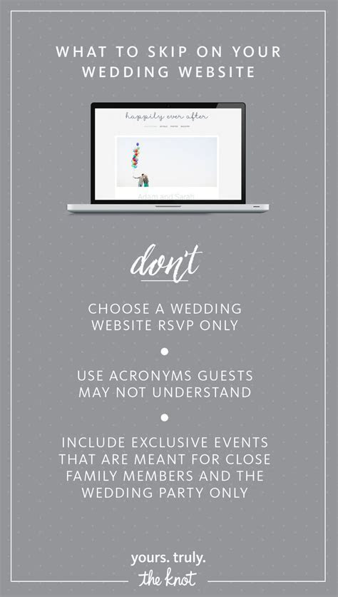 36 best Wedding Website Ideas images on Pinterest