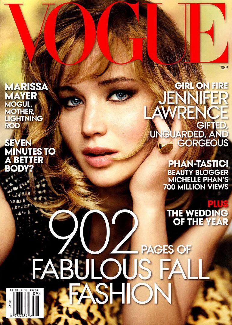 Jennifer Lawrence : Vogue (September 2013) photo jennifer-lawrence-vogue-cover.jpg
