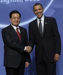 Obama e Hu Jintao