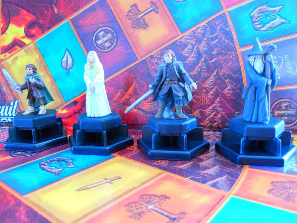 Trivial Pursuit DVD: The Lord of the Rings Trilogy Edition pawns