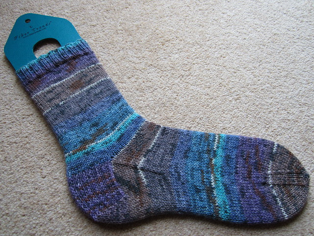 Plain Vanilla socks no.7 WIP