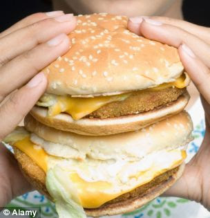 burger junk food (Picture: Alamy)
