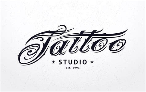 Tattoo Lettering   Download Free Vector Art, Stock