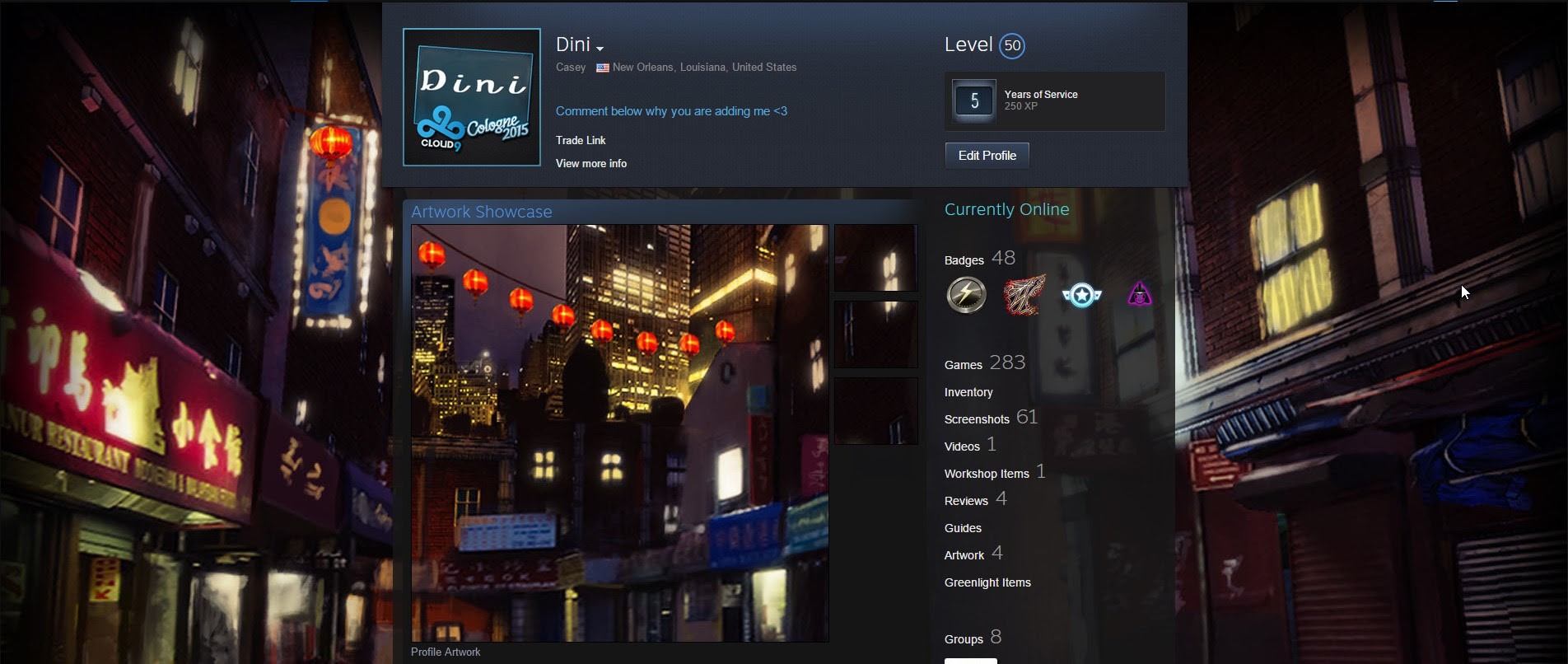 Steam Artwork Showcase Tutorial Se7ensins Gaming Community