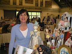 Amazing Colleen and Her Booth!