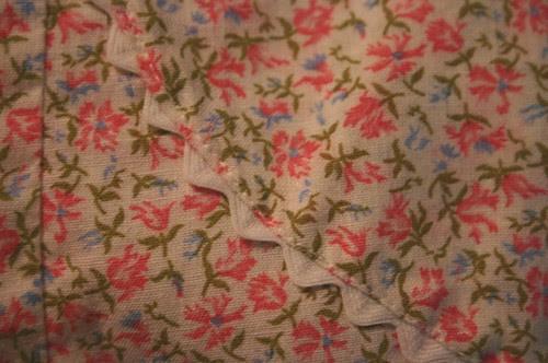 vintage apron pocket