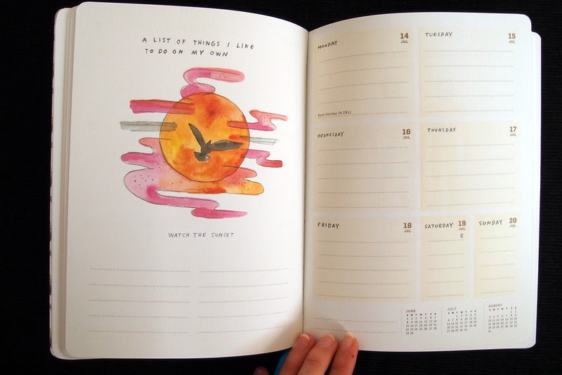 listography calendar