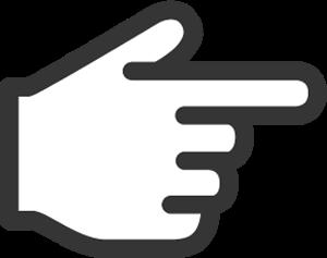 やじるし素材サイト矢印デザイン なめらか指カーソル