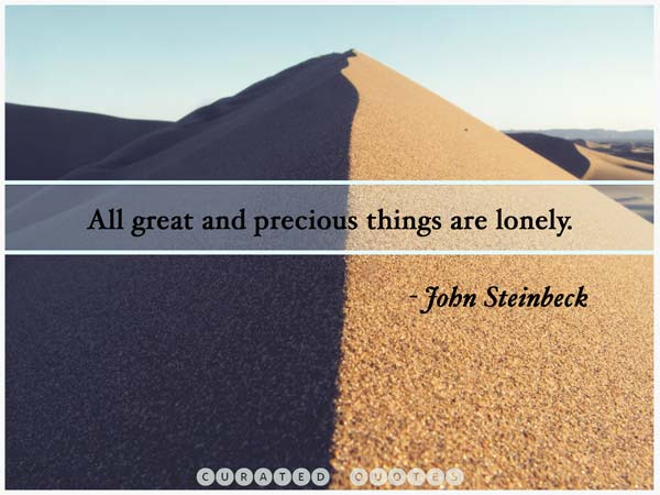The 85 Best Quotes About Loneliness Curated Quotes