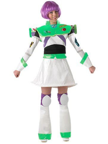 Miss Buzz Lightyear   Adult Costume   Party Delights