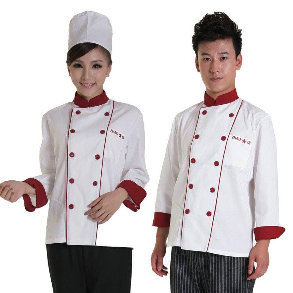 đồng phục bếp may sẵn