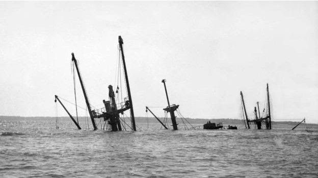 El SS Montgomery fotografiado en 1966