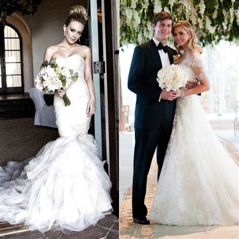 Celebrities who wore Vera Wang on their wedding day   HELLO!