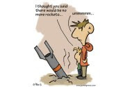 No more rockets