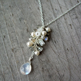 vegan bridal necklace